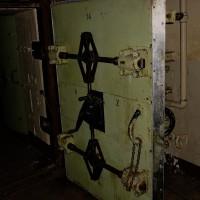 historischer Bunker aus Kriegszeiten