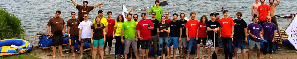 Wasser hat Lübeck genug zu bieten - Daher wäre ein Floßbau-Abenteuer als Teambuilding- und Teamevent in Lübeck naheliegend.