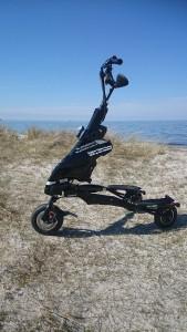 Elektro Trikke Tour -Alternative zum Segway in Scharbeutz, Travemünde oder Timmendorfer Strand